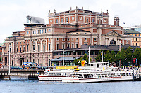 Sweden, Stockholm. Royal Swedish Opera.