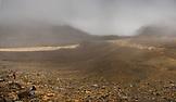 NEW ZEALAND, Tongariro National Park, Volcanic Crater on the Tongariro Alpine Crossing, Ben M Thomas