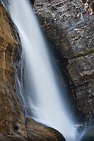 Miners Falls at Pictured Rocks National Lakeshore near Munising Michigan on the Upper Peninsula of Michigan.