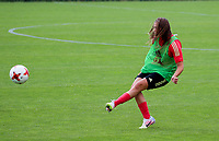 20200627 - TUBIZE , Belgium : Melissa Tom is pictured during a training session of the Belgian Red Flames U17, on the 27 th of June 2020 in Tubize.  PHOTO SEVIL OKTEM| SPORTPIX.BE