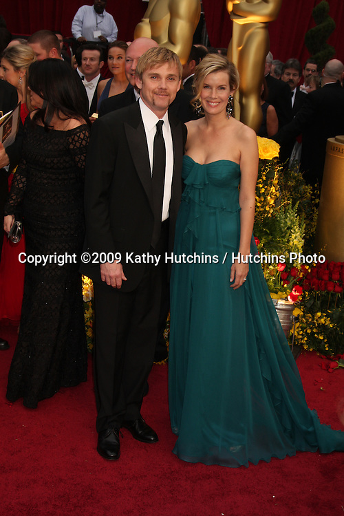 Rickey Schroeder & Wife  arriving at the 81st Academy Awards at the Kodak Theater in Los Angeles, CA  on.February 22, 2009.©2009 Kathy Hutchins / Hutchins Photo...                .