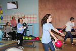 Liz Keifer and Jennifer Roszell bowl - 13th Annual Daytime Stars and Strikes Bowling for Autism on April 23, 2016 at Bowler City Lanes in Hackensack, NJ hosted by Jerry ver Dorn and Liz Keifer  (Photo by Sue Coflin/Max Photos)