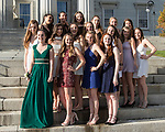 MONTPELIER - MHS Prom Night 2017 in front of the Vermont State House.