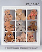 Interlitho, Alberto, CUTE ANIMALS, teddies, photos, 9 teddies in box(KL16083,#AC#)