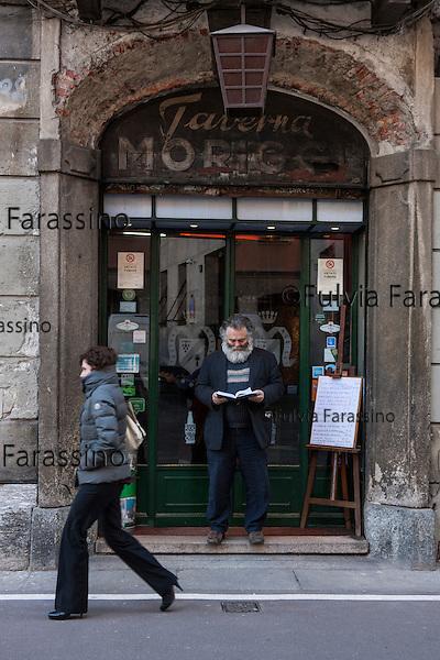 Milano, 5 marzo 2015 - Taverna Moriggi in via Morigi