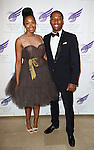 Chantel Riley and Aaron Nelson attending the The 2013 American Theatre Wing's Annual Gala honoring Harold Prince at the Plaza Hotel in New York City on September 16, 2013