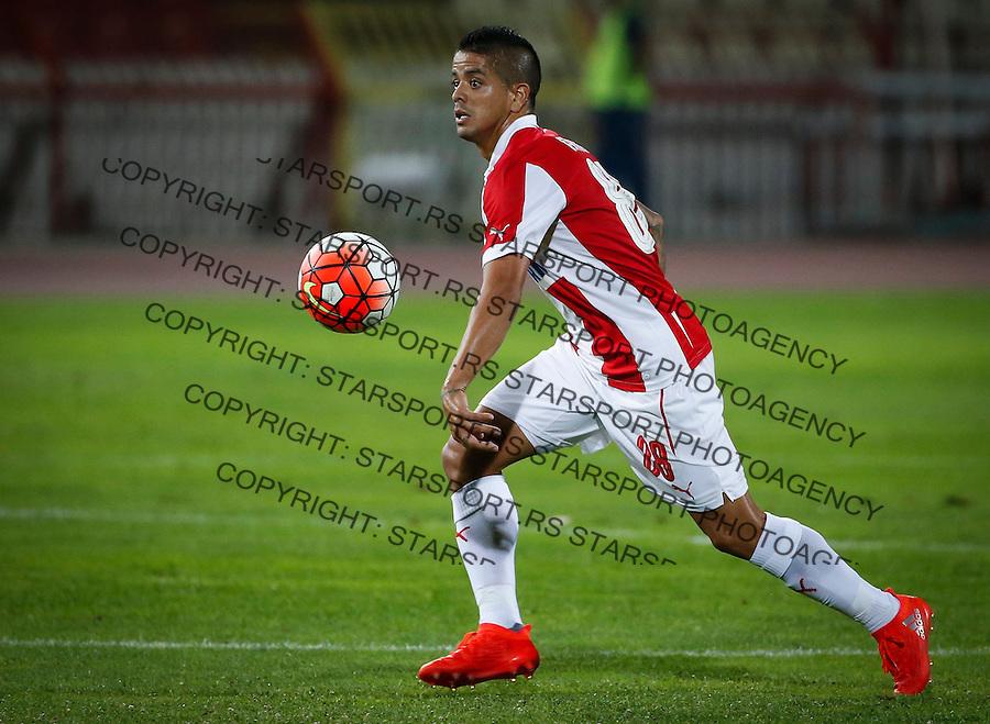 Fudbal UEFA Champions League-Second qualifying round, Second leg season 2016-2017<br /> Crvena Zvezda v Valletta<br /> Luis Ibanez<br /> Beograd, 19.07.2016.<br /> foto: Srdjan Stevanovic/Starsportphoto &copy;
