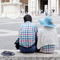 Campidoglio Square, Rome.