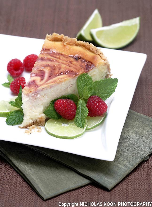 Lime - Rasberry Cheesecake