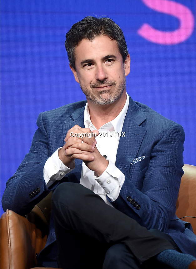2019 FOX SUMMER TCA: FOX Entertainment, President Entertainment Michael Thorn during the ANIMATION DOMINATION: BLESS THE HARTS/DUNCANVILLE panel at the 2019 FOX SUMMER TCA at the Beverly Hilton Hotel, Wednesday, Aug. 7 in Beverly Hills, CA. CR: Frank Micelotta/FOX/PictureGroup