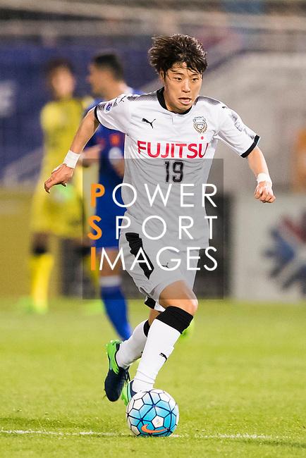 Kentaro Moriya of Kawasaki Frontale (JPN) in action during the AFC Champions League 2017 Group G match between Eastern SC (HKG) and Kawasaki Frontale (JPN) at the Mongkok Stadium on 01 March 2017 in Hong Kong, China. Photo by Chris Wong / Power Sport Images