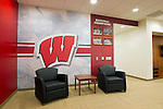 Wisconsin Badgers women's hockey locker room entrance on move-in day at the LaBahn Arena Monday, October 1, 2012 in Madison, Wisc. (Photo by David Stluka)