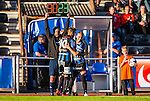 Uppsala 2014-06-26 Fotboll Superettan IK Sirius - IFK V&auml;rnamo :  <br /> Sirius Stefan Silva byts ut mot Sirius Dalil Benyahia i den andra halvleken<br /> (Foto: Kenta J&ouml;nsson) Nyckelord:  Superettan Sirius IKS Studenternas IFK V&auml;rnamo
