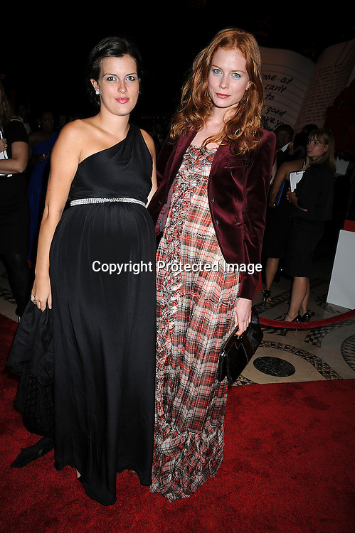 Francesca Wilson and Jessica Joffe.at The New Yorkers for Children Fall Gala on September 16, 2008 at Ciprianis 42nd Street. ..Robin Platzer, Twin Images