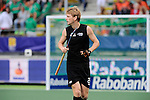 The Hague, Netherlands, June 10: Blair Tarrant #22 of New Zealand looks on during the field hockey group match (Men - Group B) between New Zealand and The Netherlands on June 10, 2014 during the World Cup 2014 at Kyocera Stadium in The Hague, Netherlands. Final score 1-1 (0-1) (Photo by Dirk Markgraf / www.265-images.com) *** Local caption ***