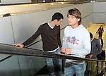 FUDBAL, BEOGRAD, 15. Nov. 2010. -Reprezentativac Srbije Adem Ljajic. Odlazak reprezentacije Srbije sa beogradskog aerodroma na prijateljski mec  protiv Bugarske koji se igra u Sofiji. Foto: Nenad Negovanovic