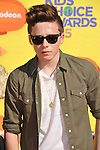 Brooklyn Beckham arriving at Nickelodeon's 28th Kids' Choice Awards 2015, held at The Forum in Los Angeles Ca. March 28, 2015