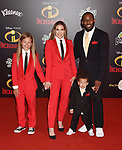 "HOLLYWOOD, CA - JUNE 05: Allison Holker and Stephen ""tWitch"" Boss attend the premiere of Disney and Pixar's 'Incredibles 2' at the El Capitan Theatre on June 5, 2018 in Los Angeles, California."
