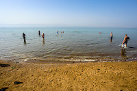 The Dead Sea is a salt lake bordering Jordan to the east and Israel and the West Bank to the west. The climate, minerals  and low elevation have made it a popular center for several types of therapies.