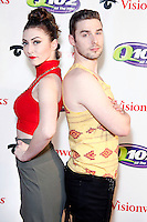 PHILADELPHIA, PA - DECEMBER 5 :  Karmin pictured on the red carpet at Q 102's Jingle Ball 2012 presented by Xfinity at the Wells Fargo Center in Philadelphia, Pa on December 5, 2012  © Star Shooter / MediaPunch Inc /NortePhoto©