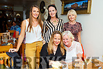 Enjoying a meal out in Bella Bia, Tralee on Friday night were seated l-r: Annette Walton McGillicuddy, Dolores Gallagher. Back l-r: Mary Ann McCarthy, Ann McGillicuddy and Susan Griffin.