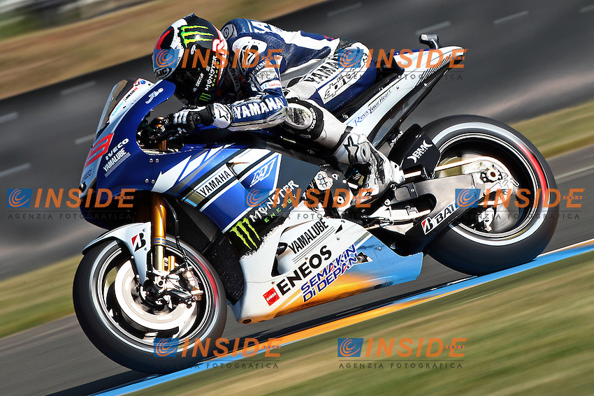 .18-05-2013 Le Mans (FRA).Motogp world championship.in the picture: Jorge Lorenzo - Yamaha factory team .Foto Semedia/Insidefoto.ITALY ONLY