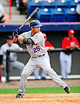 1 March 2011: New York Mets' infielder Chin-lung Hu in action during a Spring Training game against the Washington Nationals at Space Coast Stadium in Viera, Florida. The Nationals defeated the Mets 5-3 in Grapefruit League action. Mandatory Credit: Ed Wolfstein Photo