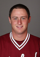 STANFORD, CA - NOVEMBER 11:  Garrett Hughes of the Stanford Cardinal during baseball picture day on November 11, 2009 in Stanford, California.