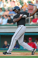 4 June 2007: Photo of the Kannapolis Intimidators, Class A South Atlantic League affiliate of the Chicago White Sox, in a game against the Greenville Drive at West End Field in Greenville, S.C. Photo by:  Tom Priddy/Four Seam Images Photo by:  Tom Priddy/Four Seam Images
