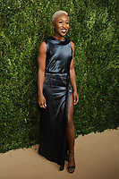 NEW YORK, NY - NOVEMBER 6: Cynthia Erivo at the 14th Annual CFDA Vogue Fashion Fund Gala at Weylin in Brooklyn, New York City on November 6, 2017. Credit: John Palmer/MediaPunch