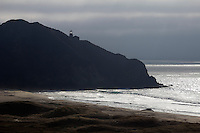 United States of America, California, Big Sur Coastline: Point Sur Lightstation | Vereinigte Staaten von Amerika, Kalifornien, Big Sur Kueste: Point Sur Leuchtturm