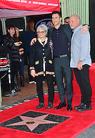 Adam Levine &amp; Parents at the Hollywood Walk of Fame Star Ceremony honoring singer Adam Levine. Los Angeles, USA 10 February  2017<br /> Picture: Paul Smith/Featureflash/SilverHub 0208 004 5359 sales@silverhubmedia.com