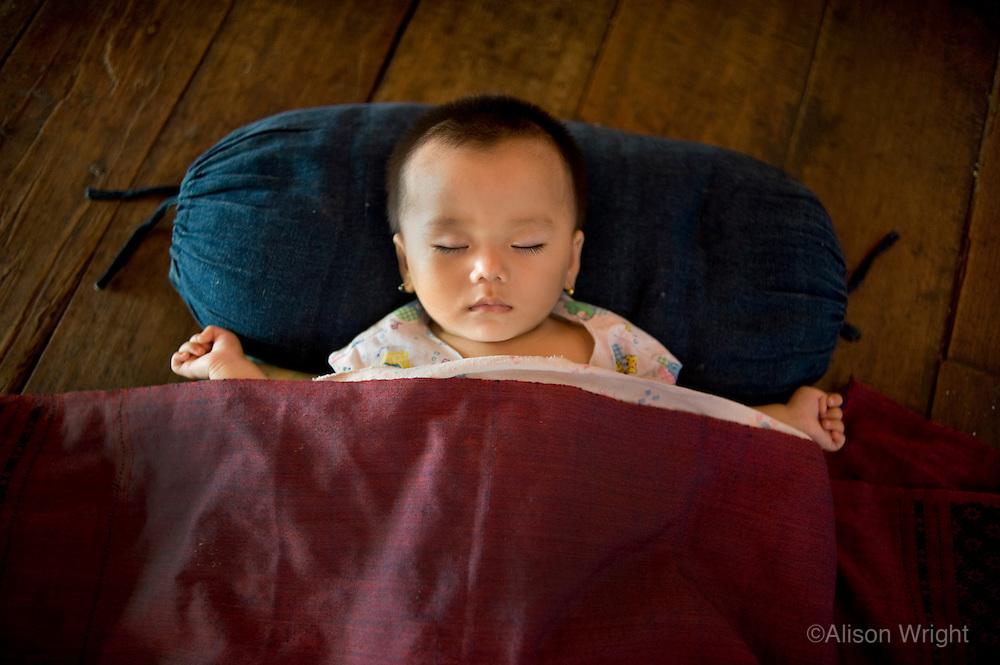 Baby in Luang Prabang, Laos