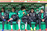 10.02.2019, Weser Stadion, Bremen, GER, 1.FBL, Werder Bremen vs FC Augsburg, <br /> <br /> DFL REGULATIONS PROHIBIT ANY USE OF PHOTOGRAPHS AS IMAGE SEQUENCES AND/OR QUASI-VIDEO.<br /> <br />  im Bild<br /> <br />  auf der Ersatzbank v.li<br /> Nuri Sahin (Werder Bremen #17)<br /> Marco Friedl (Werder Bremen #32)<br /> Milos Veljkovic (Werder Bremen #13)<br /> Kevin M&ouml;hwald / Moehwald (Werder Bremen #06)<br /> Claudio Pizarro (Werder Bremen #04)<br /> <br /> Foto &copy; nordphoto / Kokenge