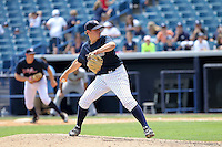 May 13, 2010: Starting Pitcher Graham Stoneburner of the Tampa Yankees delivers a pitch during a game at George M Steinbrenner Field in Tampa, FL. Tampa is the Florida State League High Class-A affiliate of the New York Yankees. Photo By Mark LoMoglio/Four Seam Images