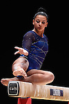 Gymnastics World Championships Womens Team Finals 27.10.15. Great Britain in action. Rebecca Downie .Rebecca Downie.