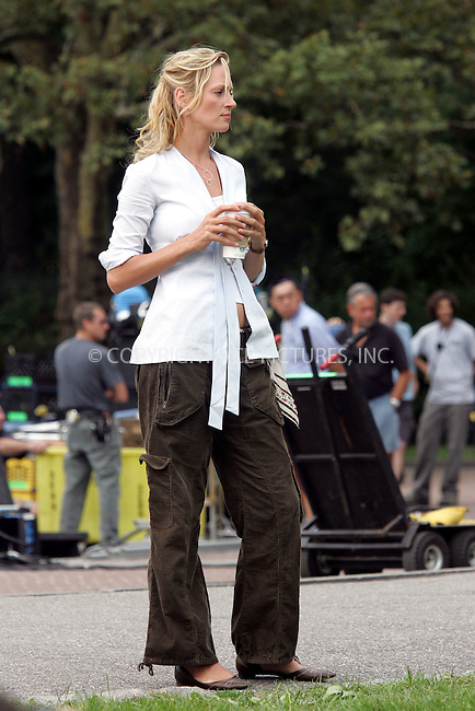 Actress Uma Thurman was on the Central Park set of her new movie 'Prime'. Written and directed by Ben Younger, 'Prime' casts Thurman as a thirtysomething woman who falls for her therapist's twentysomething son. New York City. September 15 2004. Please byline: BRIAN FLANNERY/ACEPIXS.COM..*PAY-PER-USE*....IMPORTANT: Please note that our old trade name New York Photo Press has changed to ACE Pictures. New York Photo Press and ACE Pictures are both owned by All Celebrity Entertainment, Inc.......All Celebrity Entertainment, Inc..Contact: Alecsey Boldeskul, (646) 267 6913..Philip vaughan, (646) 769 0430..e-mail: info@acepixs.com..Philip.Vaughan@acepixs.com