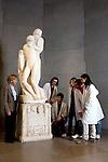 14/01/201 - Italy, Milan, Castello Sforzesco, Pietà Rondanini sculpture