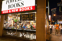 Powell's City of Books is a landmark independent bookstore in Portland Oregon