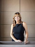 A portrait of architect Monica Mauti