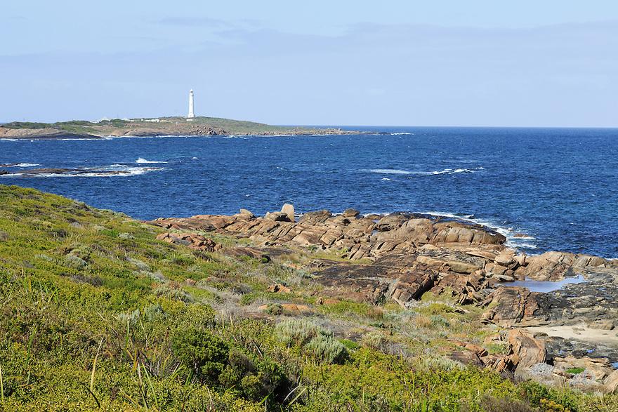 Cape Leeuwin Lighthouse. Western Australia.