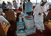 143 Automobiles were given away as prizes as well as the cash prizes.  Stacks of enormous foam keys represent vehicles awarded to those judged to possess the most beautiful camels on the Arabian Peninsula. But the contest is as much about family pride as it is about prizes--or camel perfection.