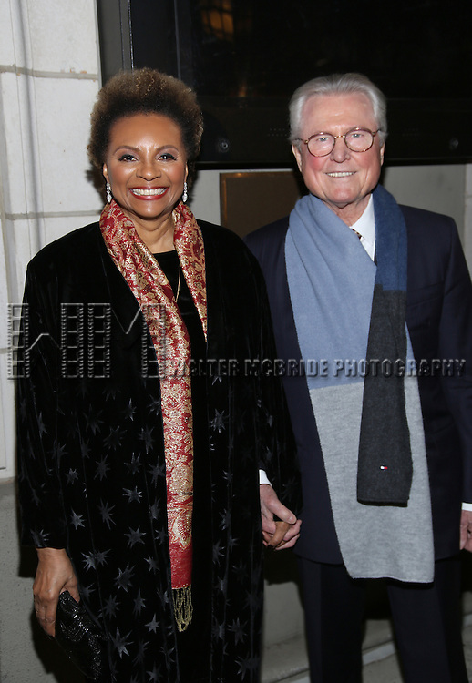 Leslie Uggams attend the Manhattan Theatre Club's Broadway debut of August Wilson's 'Jitney' at the Samuel J. Friedman Theatre on January 19, 2017 in New York City.
