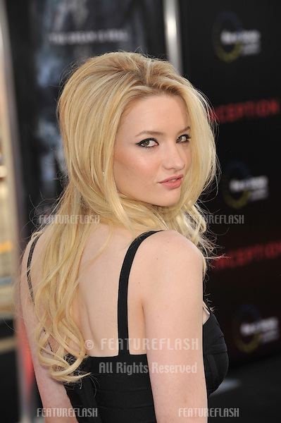 "Talulah Riley at the Los Angeles premiere of ""Inception"" at Grauman's Chinese Theatre, Hollywood..July 13, 2010  Los Angeles, CA.Picture: Paul Smith / Featureflash"
