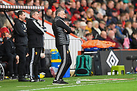 Watford managerNigel Pearson watches play during AFC Bournemouth vs Watford, Premier League Football at the Vitality Stadium on 12th January 2020