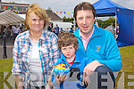 Kerry Parents &  Friends Association staff member Hannah Hanrahan with Thomas and Ronan O'Connor enjoyinh the annual garden Fete held last Sunday afternoon in Listowel.