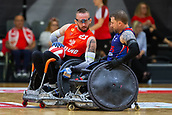 2019 WRF Wheelchair Rugby European Championship Great Britain v Poland Aug 8th