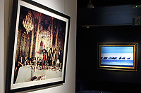 New Bond Street's Opera Gallery re-opens with new Masterpiece Exhibition. The gallery opens with a new exhibition featuring some of the biggest names in contemporary art including works by Damien Hirst, Andy Warhol and Fernando Botero alongside a series of new artworks made during lock down by world-famous light sculptor Anthony James. London July 4th 2020