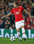 Daley Blind of Manchester United during the Champions League Group A match at the Old Trafford Stadium, Manchester. Picture date: September 12th 2017. Picture credit should read: Andrew Yates/Sportimage