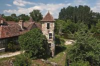 Europe/Europe/France/Midi-Pyrénées/46/Lot/Carennac: Tour du XVI éme siécle sur les bords de la Dordogne -  Les Plus Beaux Villages de France